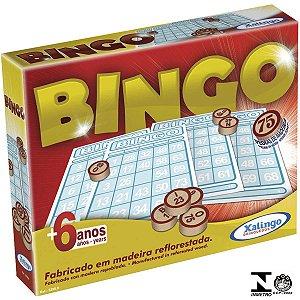 Jogo De Bingo Pedras De Madeira- Xalingo