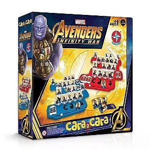 Jogo Cara A Cara Avengers Estrela