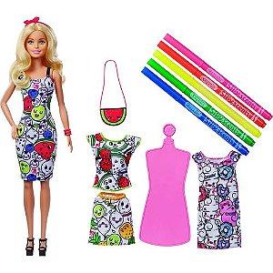 Barbie & Crayola - Pinte com Estilo - Mattel