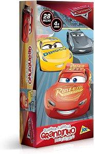 Quebra-Cabeça Grandinho Carros Metalizado 28 Peças - Toyster