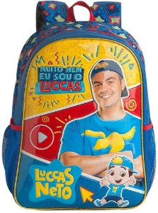 Mochila de Costas Luccas Neto - Clio
