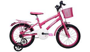 Bicicleta Cairu 16 Flowers Rosa