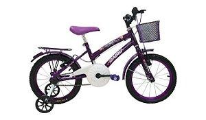 Bicicleta Cairu 16 Flowers Violeta
