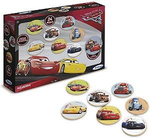 Jogo da Memória Carros Disney 24 Peças 19887 - Xaling