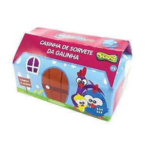 Casinha de sorvete da mini Galinha Pintadinha para Brincar Sunny