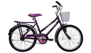 Bicicleta Cairu 20 Genova Violeta