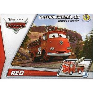 Quebra-Cabeça 3d - Carros Disney DTC
