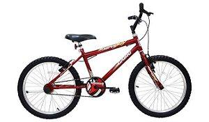 Bicicleta Cairu 20 MTB vermelho