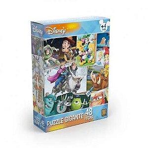 Quebra-Cabeça Disney Puzzle Gigante 48 Peças - Grow