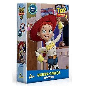 Quebra-Cabeça Toy Story 4 Jessie 60Pçs Toyster