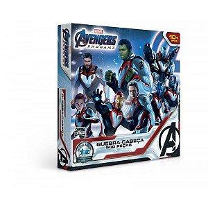 Quebra-Cabeça 500 Peças Os Vingadores Ultimato - Toyster