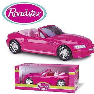 Carro Pink Da Barbie Conversível Roadster Roma