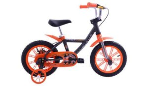 Bicicleta Cairu 14 Masc First Laranja