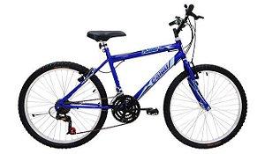 Bicicleta Cairu 26 Flash Bic Azul