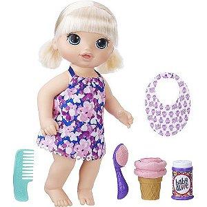 Boneca Baby Alive Loira Sobremesa Mágica Hasbro