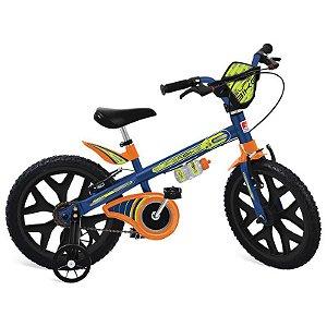 Bicicleta 16' Superbike Azul - Bandeirante