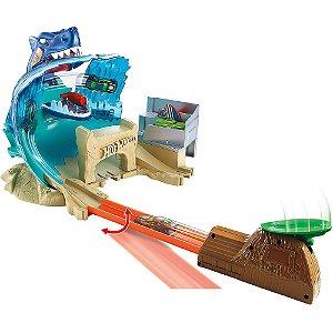 Conjunto Hot Wheels Ataque Tubarão City - Mattel