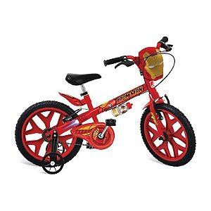 Bicicleta Aro 16 Homem De Ferro Vingadores - Bandeirante