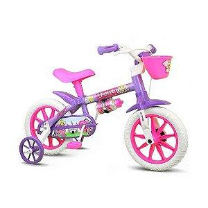 Bicicleta Feminina Infantil Violet Aro 12 Nathor