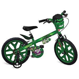 Bicicleta Aro 16 Hulk Vingadores - Bandeirante