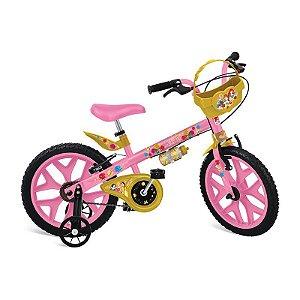 Bicicleta Aro 16 Princesas Disney- Bandeirante