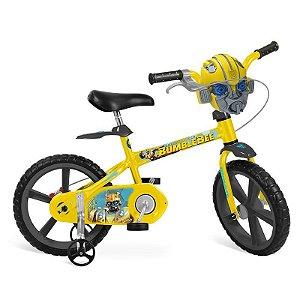 Bicicleta Aro 14 Transformers Bumblebee - Bandeirant