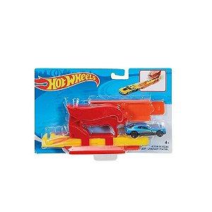 Hot Wheels Lançador Com Carro - Mattel