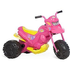Moto Elétrica XT3 Fashion Rosa- Bandeirante