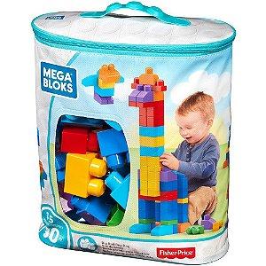 Mega Bloks Pré Sacola de 80 Peças Mattel