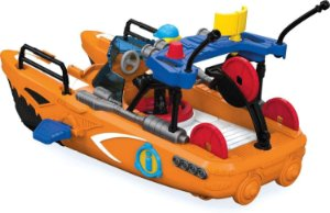 Barco de Resgate Playset Imaginext Fisher-Price Mattel