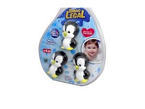 Conjunto Pinguim Pais e Filhos