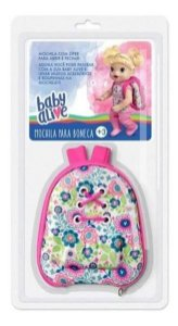 Mochila Baby Alive Hasbro