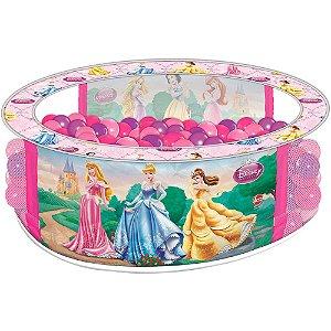 Piscina de Bolinha Princesas Rosa -  Líder