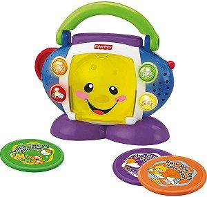 CD Player Aprender e Brincar - Fisher Price - Mattel