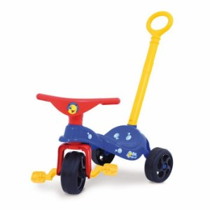 Triciclo Peixinho com Empurrador