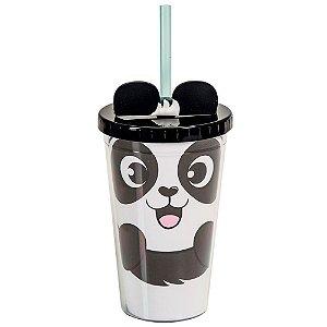 Copo Canudo Shape Panda - Uatt