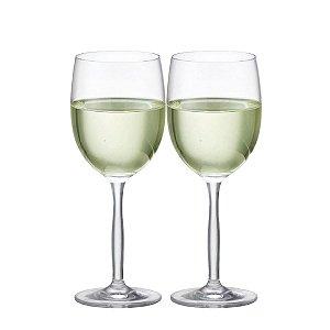 Conjunto De Taças Para Vinho Branco Ritz Cristal 335ml Ruvolo