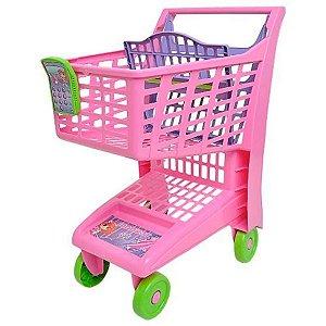 Carrinho Market Rosa - Magic Toys