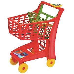 Carrinho Market Vermelho - Magic Toys
