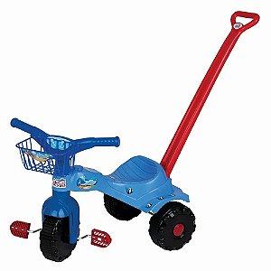 Triciclo Tico Tico Tubarão Com Alça - Magic Toys