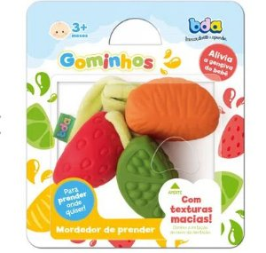 Mordedor Gominhos Frutas Toyster