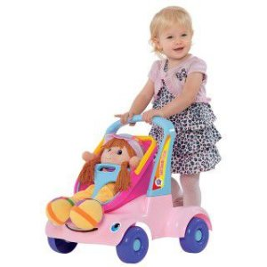 Bebê Passeio Boneca - Merco Toys