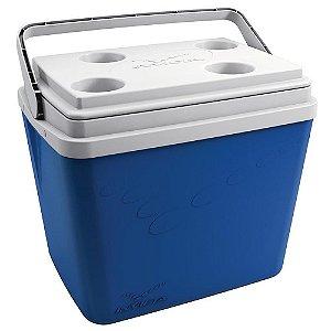 Caixa Termica 34l Pop Azul Petroleo -  Invicta