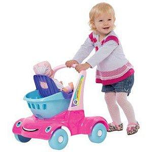 Bebê Passeio Supermercado - Merco Toys