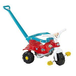 Triciclo Tico Tico Pets - Azul - Magic Toys