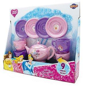 Jogo de Chá com Acessórios Princesas Toyng