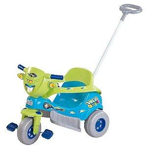 Triciclo Tico Tico Velo Toys - Azul - Magic Toys