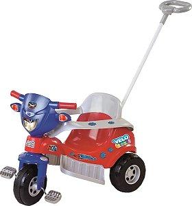 Triciclo Tico Tico Velo Toys Vermelho - Magic Toys