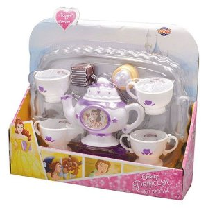 Kit de Chá com Bandeja Princesa Toyng