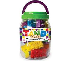 Blocos De Montar Tand 40 Peças - Toyster